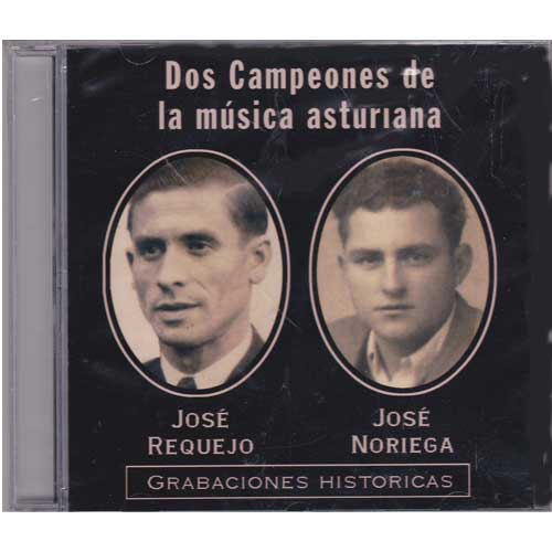 Imagen portada cd Dos campeones de la musica asturiana