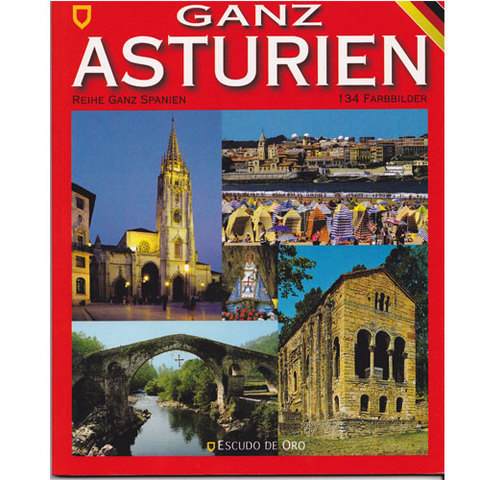 Artesania Asturiana -  Todo Asturias en Aleman  - Editorial Picu Urriellu