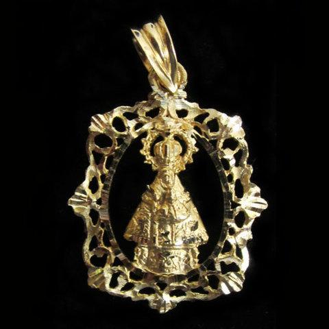 Artesania Asturiana -  Medalla Virgen de Covadonga orla  - Editorial Picu Urriellu