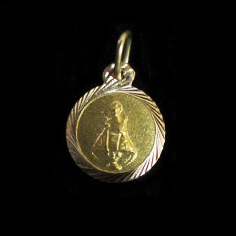 Artesania Asturiana -  Medalla redonda Virgen Covadonga - Editorial Picu Urriellu