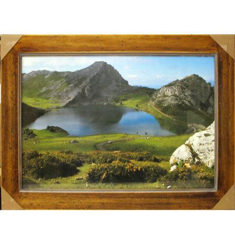 Artesania Asturiana - Lago Enol - Picos de Europa - fotoposter  - Editorial Picu Urriellu
