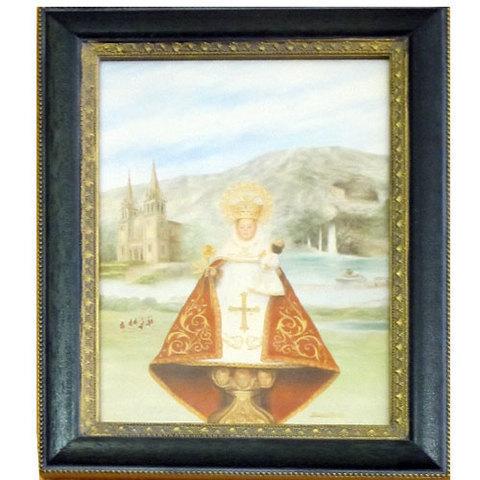 Artesania Asturiana -  Virgen Covadonga - litografia   - Editorial Picu Urriellu