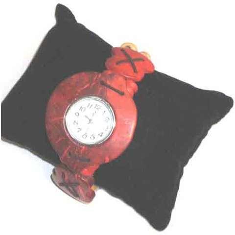Artesania Asturiana -  Reloj de coco  - Editorial Picu Urriellu
