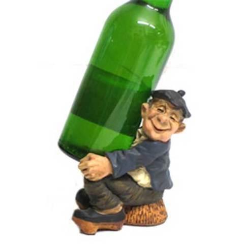 Artesania Asturiana -  Portador botella o vaso sentado  - Editorial Picu Urriellu
