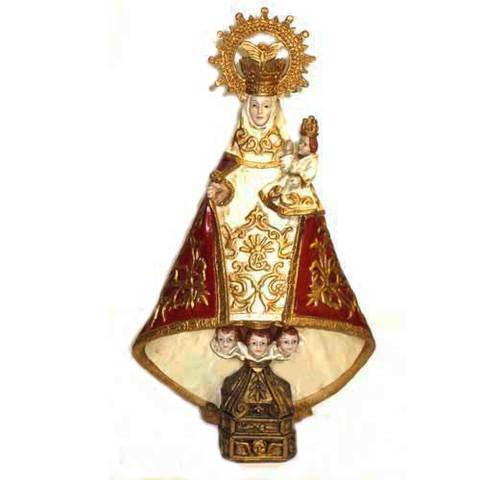 Artesania Asturiana -  Virgen Covadonga grande - Editorial Picu Urriellu