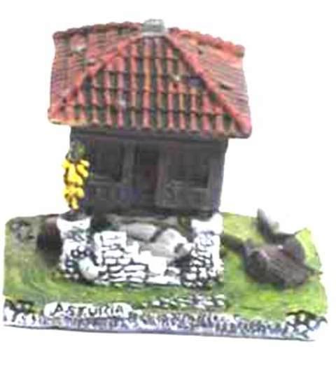Artesania Asturiana -  Horreo maiz pequeño - Editorial Picu Urriellu