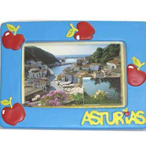 Artesania Asturiana -  Portafotos manzanas grande  - Editorial Picu Urriellu