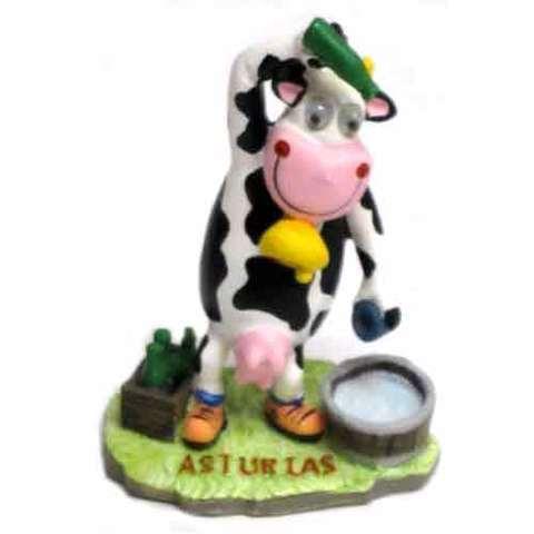 Artesania Asturiana -  Vaca ojos grandes escanciadora  - Editorial Picu Urriellu