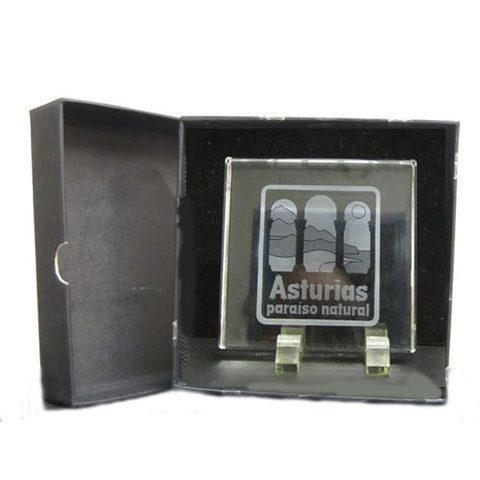 Artesania Asturiana -  Asturias paraiso natural placa  - Editorial Picu Urriellu