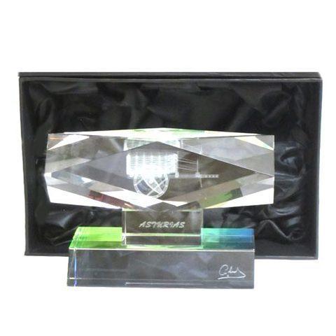 Artesania Asturiana -  Monolito cristal carro - horizontal  - Editorial Picu Urriellu