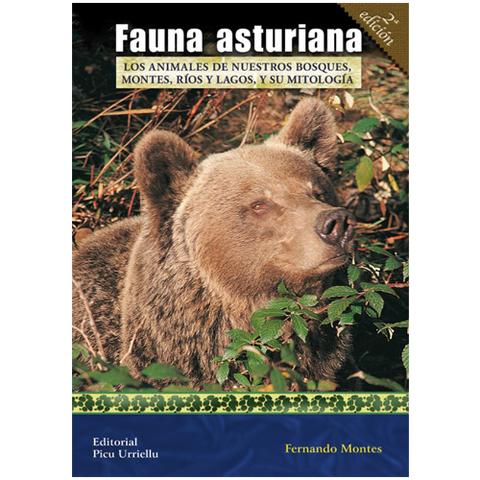 Artesania Asturiana - Fauna asturiana - 2º edicion - Editorial Picu Urriellu