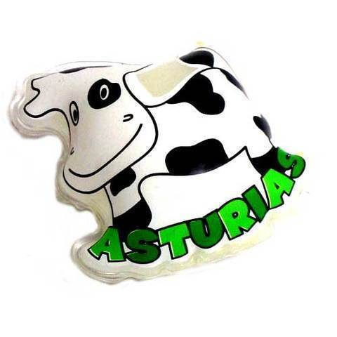 Artesania Asturiana - Gel de baño - imagen vaca - Editorial Picu Urriellu