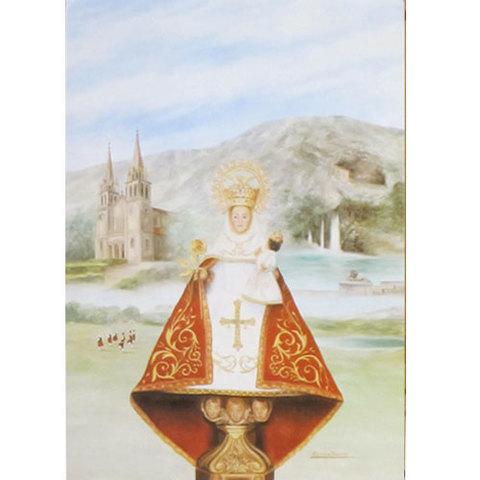 Artesania Asturiana -  Virgen de Covadonga pequeña   - Editorial Picu Urriellu