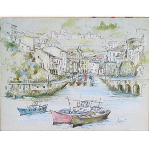 Artesania Asturiana -  Pastel y acuarela pequeñas  - Editorial Picu Urriellu