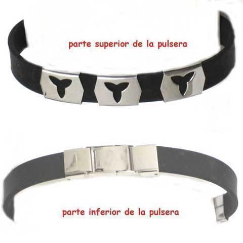 Artesania Asturiana - Pulseras acero y caucho - Editorial Picu Urriellu