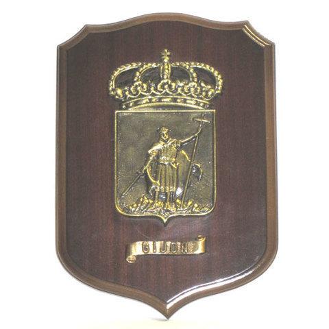 Artesania Asturiana - Metopa escudo de Gijon - Editorial Picu Urriellu