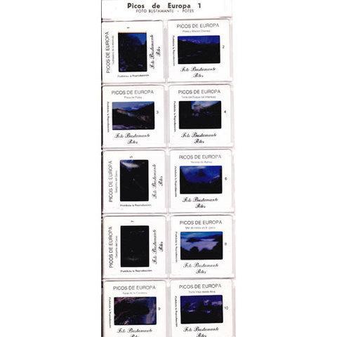 Artesania Asturiana - Diapositivas - Picos de Europa - Editorial Picu Urriellu