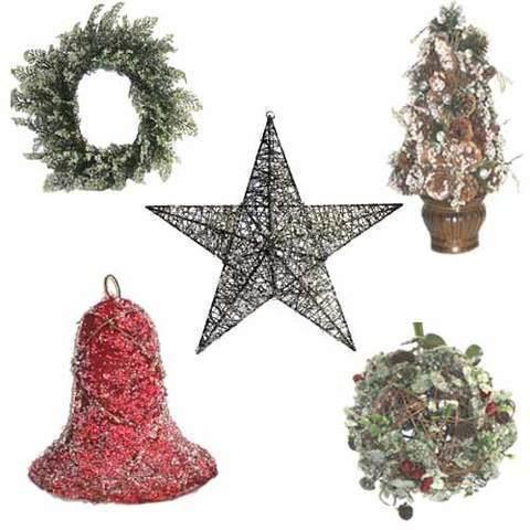 Artesania Asturiana - Decoracion de navidad - particulas imitación a cristal - Editorial Picu Urriellu
