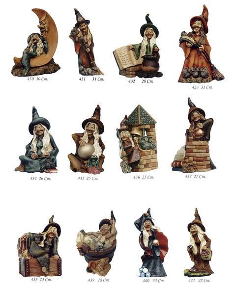 Artesania Asturiana - Brujas mitologia grandes - Editorial Picu Urriellu