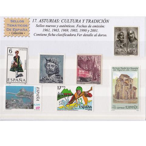 Artesania Asturiana - Sellos tematicos de Asturias - Editorial Picu Urriellu