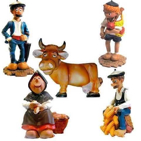 Artesania Asturiana - Figuras comic Pinin - Editorial Picu Urriellu