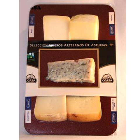 Artesania Asturiana - Tablas de quesos asturianos ( 2 pesos ) - Editorial Picu Urriellu