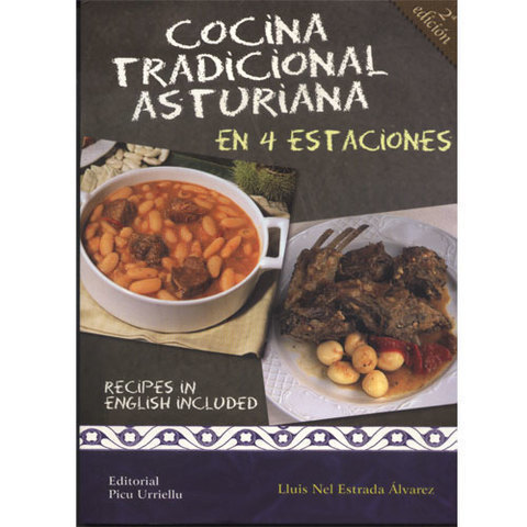 Libro cocina tradicional asturiana editorial picu urriellu for Cocina asturiana
