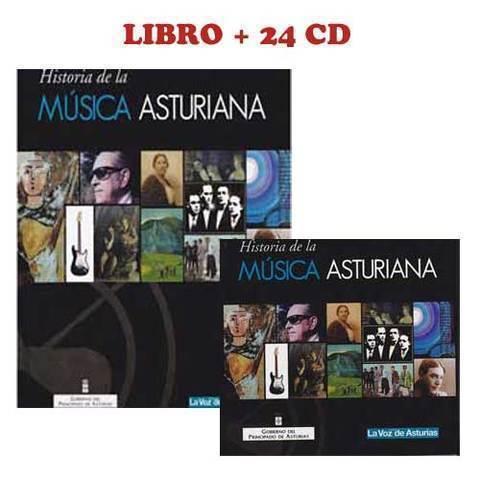 Artesania Asturiana - Libro + 24 CD - Historia de la musica - Editorial Picu Urriellu