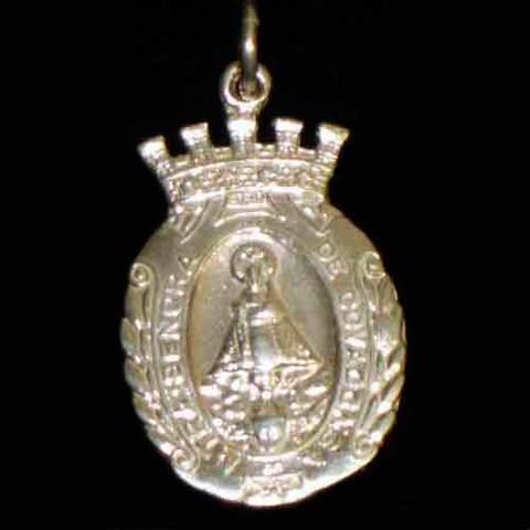 Artesania Asturiana - Medalla plata almena ( 2 tamaños ) - Editorial Picu Urriellu