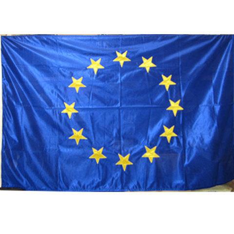 Artesania Asturiana - Bandera oficial comunidad europea (bordadas las estrellas) - Editorial Picu Urriellu