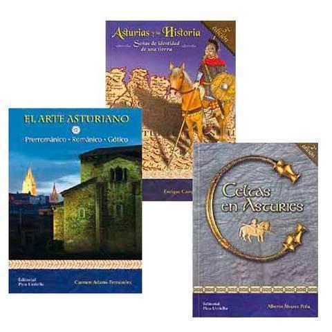 Artesania Asturiana - Paquete 3 libros de Historia de asturias - Editorial Picu Urriellu