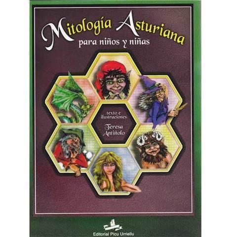 Artesania Asturiana - Libro de Mitologia para niños y niñas - Editorial Picu Urriellu