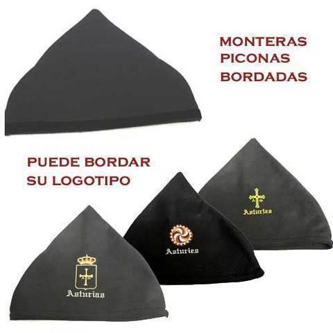 Artesania Asturiana - Monteras bordadas  - Editorial Picu Urriellu