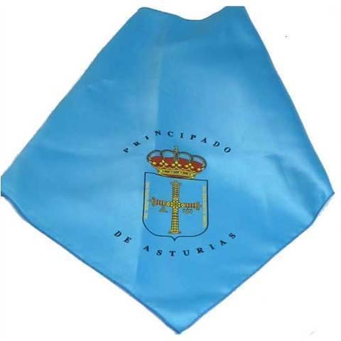 Artesania Asturiana - Pañuelo cuello escudo de Asturias - Pricipado de Asturias - Editorial Picu Urriellu