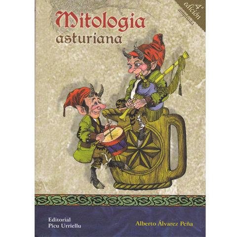 Artesania Asturiana -  Mitologia asturiana - libro - Editorial Picu Urriellu