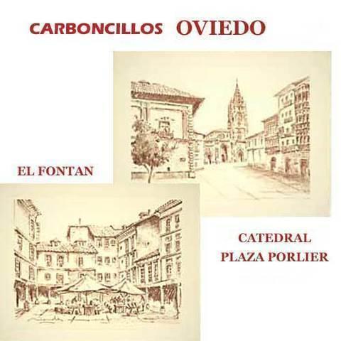 Artesania Asturiana - Carboncillos de Oviedo - Editorial Picu Urriellu