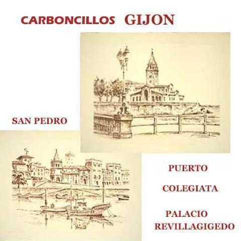 Artesania Asturiana - Carboncillos de Gijon - Editorial Picu Urriellu