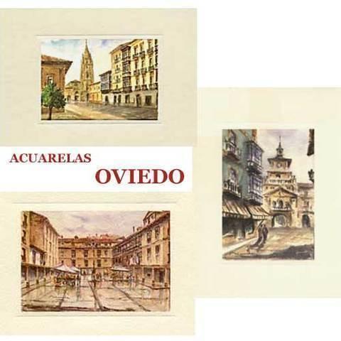 Artesania Asturiana - Acuarelas Oviedo - Editorial Picu Urriellu