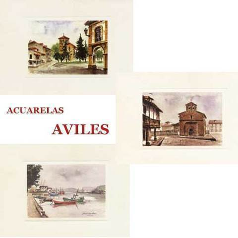 Artesania Asturiana - Acuarelas Aviles - Editorial Picu Urriellu
