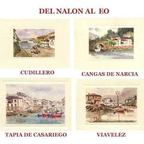 Artesania Asturiana - Acuarelas del Nalon al Eo - Editorial Picu Urriellu