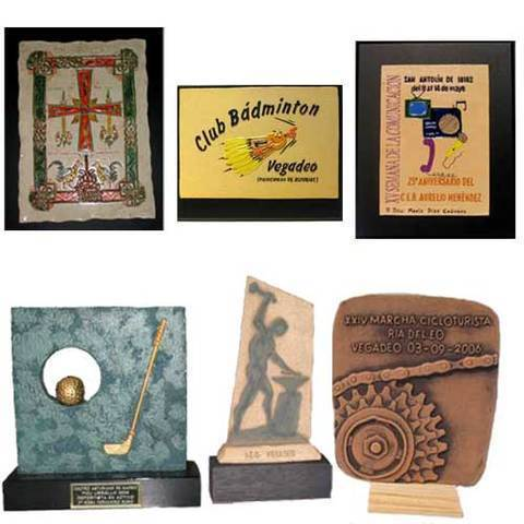 Artesania Asturiana - Placas representacion, regalo y protocolo - Editorial Picu Urriellu