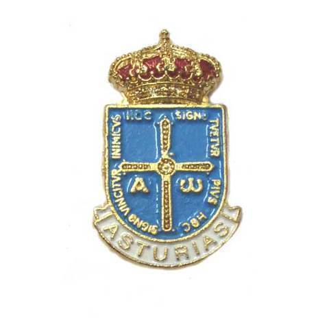 Artesania Asturiana - Pin Escudo de Asturias - Editorial Picu Urriellu