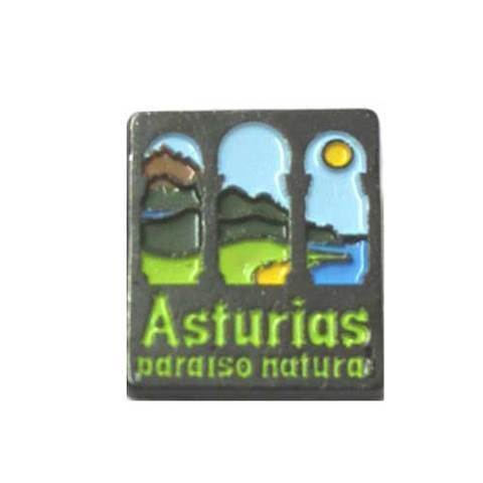 Artesania Asturiana - Pin Paraiso natural - Editorial Picu Urriellu