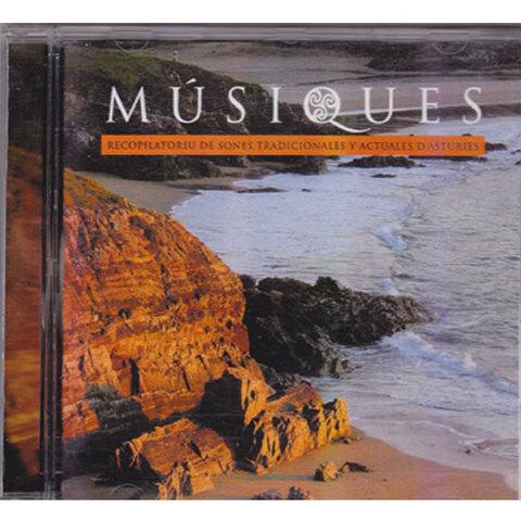 Artesania Asturiana - Musiques. Recopilatorio de música tradicional y actual  de Asturias. - Editorial Picu Urriellu