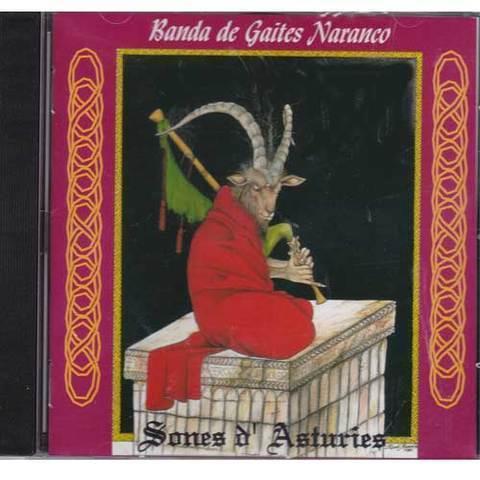 Artesania Asturiana - Banda gaitas Naranco - Sones d´Asturies - Editorial Picu Urriellu