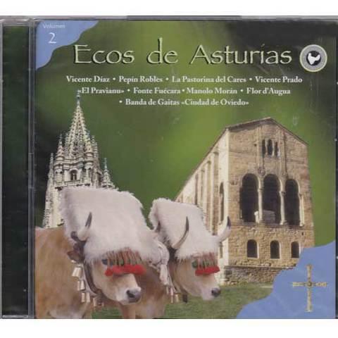 Artesania Asturiana - Ecos de Asturias - volumen 2 - Editorial Picu Urriellu