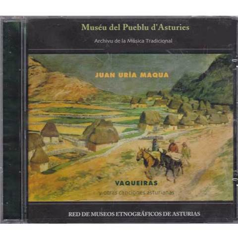Artesania Asturiana - Juan Uria Maqua - Vaqueiras - Editorial Picu Urriellu