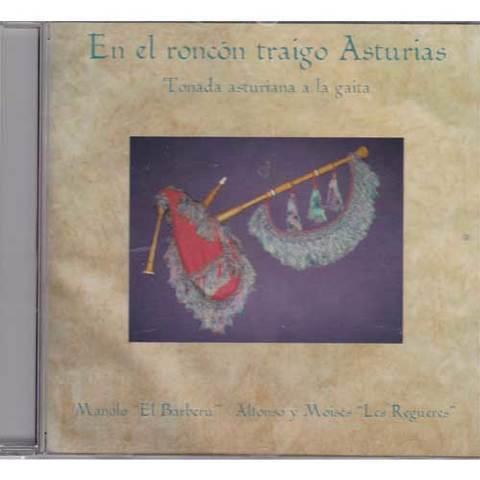 Artesania Asturiana - Manolo -El barberu- En el roncón traigo Asturias - Editorial Picu Urriellu