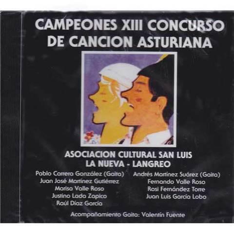 Artesania Asturiana - Campeones XIII concurso de la cancion asturiana - Editorial Picu Urriellu