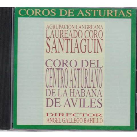 Artesania Asturiana - Coros de Asturias - Santiguin y centro asturiano Aviles - Editorial Picu Urriellu
